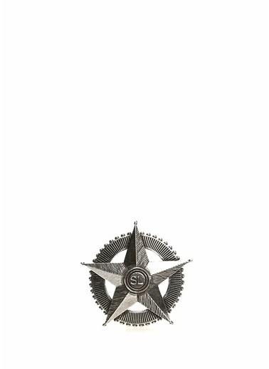 Saint Laurent Broş Gümüş